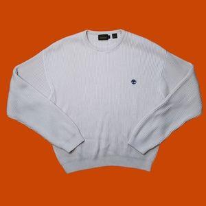Timberland Weathergear cream knit sweater mens XL